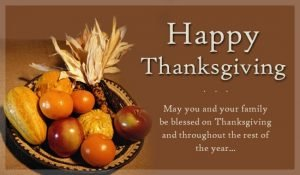 Happy Thanksgiving Quotes for God, Teachers, Parents