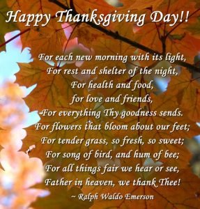 Thanksgiving Quotes for Friends and Family (2020)
