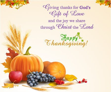 Religious Thanksgiving Messages