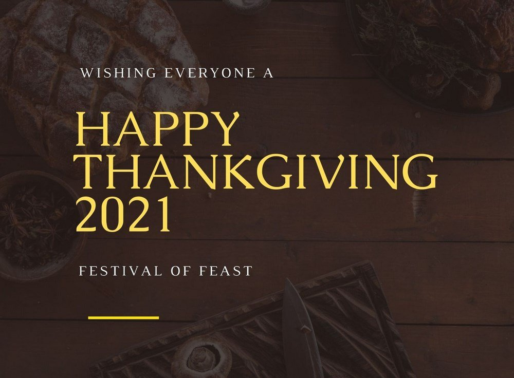 Happy thanksgiving day 2021 to everyone