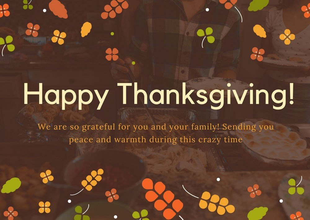 Colorful thanksgiving images