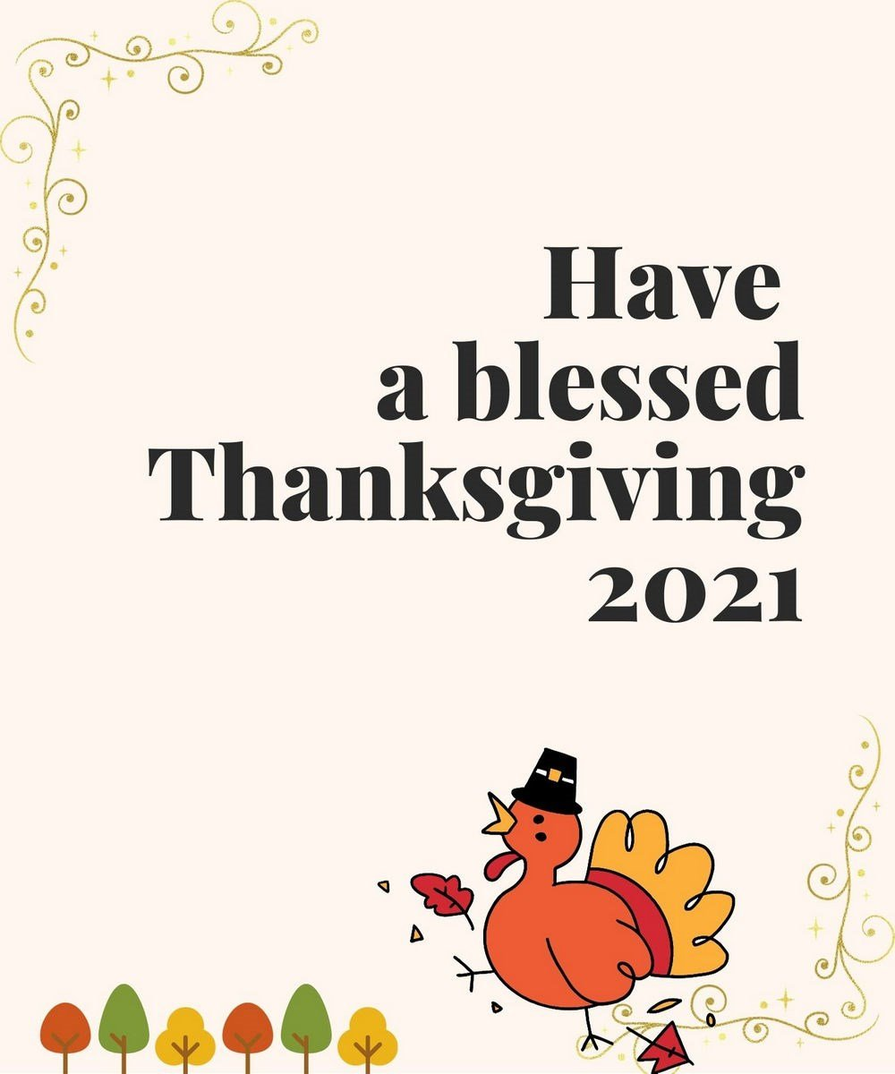 Thanksgiving wish image for 2021